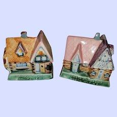 Vintage Collectible Ceramic Santas Workshop North Pole NY