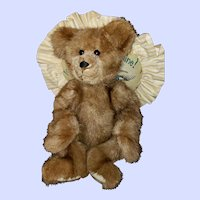 Charming Mink Fur Teddy Bear Brownie Looking 4 a 4ever Home