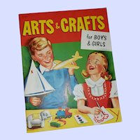 Charming Arts & Crafts for Boys & Girls Book