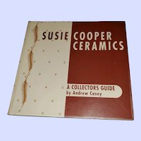 Soft Cover Ex Libra  Collectors Guide Susie Cooper Ceramics