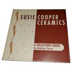 Soft Cover Ex Libra  Collectors Guide Susie Cooper Ceramics