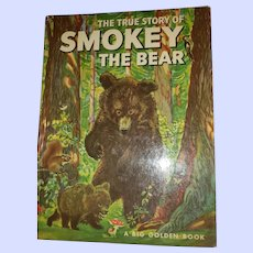 The True Story of Smokey the Bear Oversize H.C. Book