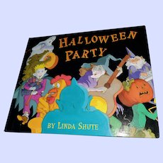 Hard Cover Book Halloween Party First Edition