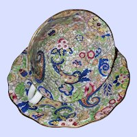 Radfords Bone China England Paisley Chintz Teacup Saucer Set