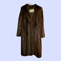 Vintage Canadian Fur Company Hartford Nutria Ladies Fur Coat