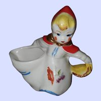 Little Red Riding Hood Hull Pottery Creamer