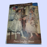 Hard Cover Book The Child in Fashion Doris Langley Moore