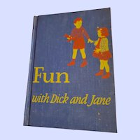 Hard Civer School Reader Fun with Dick and Jane
