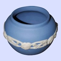 Miniature Blue ECanada Pottery MI Canada