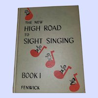 Hard Cover Book The New High Road to Sight Singing Book 1