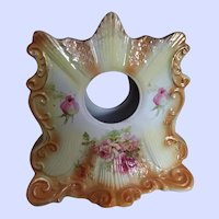 Vintage Heavy Decorative Ceramic Clock Holder Case