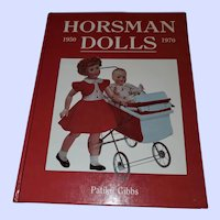 Hard Cover Book Horsman Dolls 1950-70
