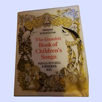 The Gambit Book of Children's Song's