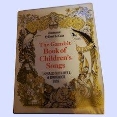 The Gambit Book of Children's Song's