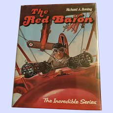 Hard Cover Book The Red Baron Illustrated