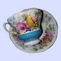 Royal Albert Bone China Teacup Saucer Country Fayre Series Sussex