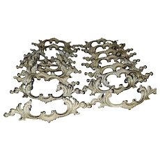 17 Metalware French Provincial Style Drawer Pulls Canada C-1006