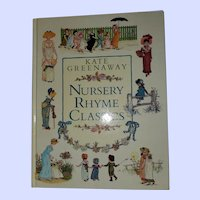 Hard Cover Book Nursery Rhyme Classics Kate Greenaway