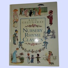 Hard Cover Book Nursery Rhyme Classics Kate Greenaway
