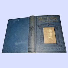 Hard Cover Book Billy Sunday The Man and his Message