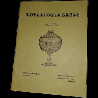 Soft Cover Book Nova Scotia Glass Illustrated