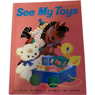 Hard Cover Children's Book See My Toys