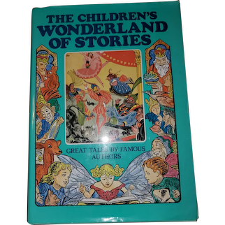 The Children's Wonderland of Stories illustrated