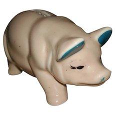 Vintage Break Open Style Piggy Pig Still Coin Bank
