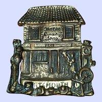 Vintage Brass Door Knocker The Old Curiosity Shop