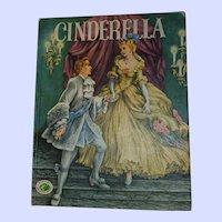 Hard Cover Book Cinderella Nursery Treasure Book