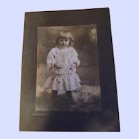 Vintage Photograph Charming Child Bridgewater Nova Scotia Canada