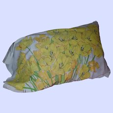 Four Gently Used Vintage  Designer Signed Vera Pillowcases