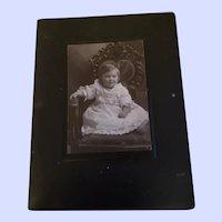 Charming Vintage Photograph Little Child Decorative Chair