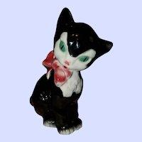 Royal Copley Kitty Cat Figurine Statuette Meow