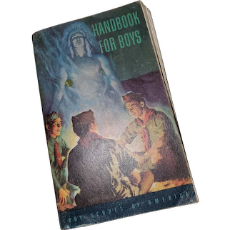 Boy Scouts of America Soft Cover Book Handbook For Boys