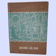 Sunshine And Rain Scientific Living Series L. W. Singer Co Vintage Hardback 1947