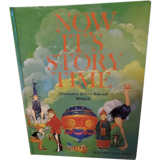 Hard Cover Book Now It's Story Time Read Once Again Series