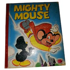 MIGHTY Mouse A  Treasure Book Illustrated