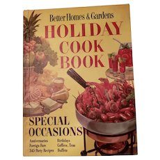 VTG Hard Cover Better Homes and Gardens Holiday Cook Book