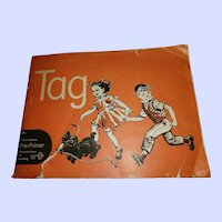 TAG Children's First Grade Pre-Primer Paper Reading Book