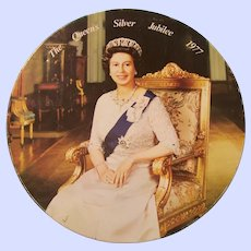 Vintage Tin Litho Advertising Tin The Queen's Silver Jubilee 1977