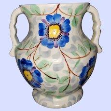 Beautiful Vintage Beswick Ware 495 MI England Handled Vase