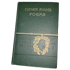HARD Cover Book Father Ryan's Poems Illustrated