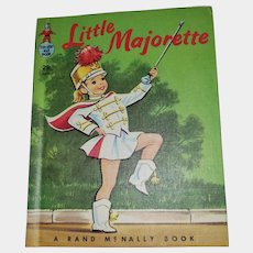 Rand McNally Tip Top Elf Book Little Majorette