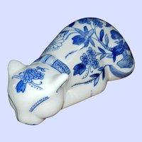 Seymour Mann China Blue Fine Porcelain