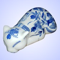 Seymour Mann China Blue Fine Porcelain