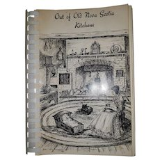 Soft Cover Spiral Binding Cook Book Out of Old Nova Scotia Kitchens