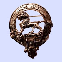 FUIMUS Scotland Kilt Pin Brooch Clan Bruce