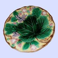 Decorative Majolica Plate Wedgwood Etruria England