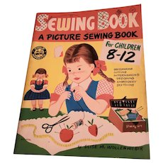 Soft  Cover SEWING Book A Picture Sewing Book